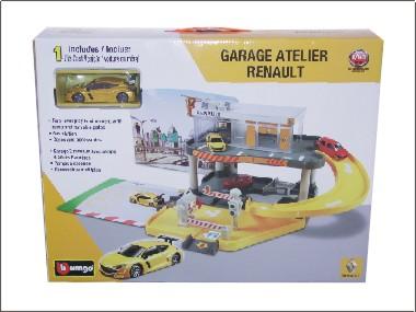 Bburago model catalogue for Garage renault atelier