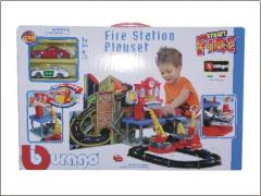 STREET FIRE FIRE STATION PLAYSET