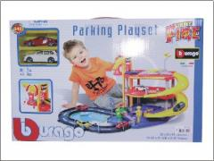 STREET FIRE PARKING PLAYSET